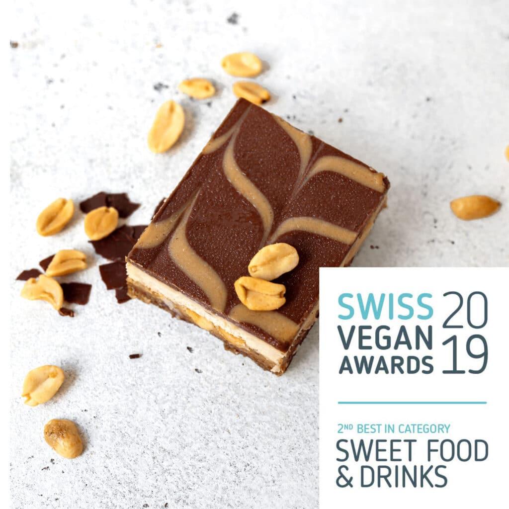 snickerz swiss vegan award 2019